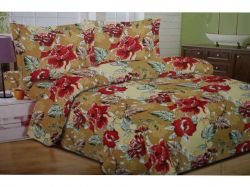 Комплект постільної білизни 1,5 спальний 70*70 полібязь 3Д арт.23 ТМConstancy - Картинка 1