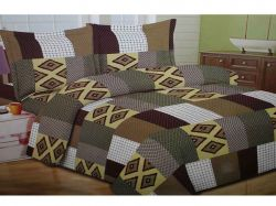 Комплект постільної білизни 1,5 спальний 70*70 полібязь 3Д арт.28 ТМConstancy