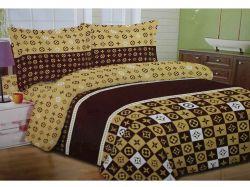 Комплект постільної білизни 1,5 спальний 70*70 полібязь 3Д арт.45 ТМConstancy