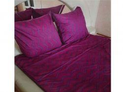 Комплект постільної білизни 1,5 спальний 70*70 полібязь 3Д арт.49 ТМConstancy