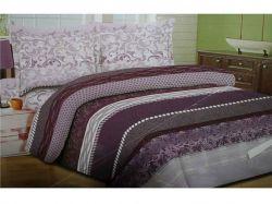 Комплект постільної білизни 1,5 спальний 70*70 полібязь 3Д арт.24 ТМConstancy