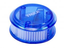 Чинка з контейнером кругла синій ТЧ66-06 ТМКИТАЙ