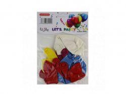 Кульки 12 кольорів 6 (10шт/уп) арт. 6093 ТМКИТАЙ