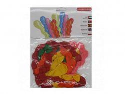 Кульки спіраль 6 кольорів (10шт/уп) арт. 5911 ТМКИТАЙ