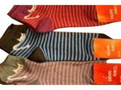 Шкарпетки жіночi з малюнком Коти мікс (12 пар/уп)р.23-25 арт.ЖМК0920 ТМЖитомир