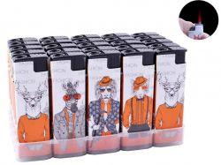 Запальничка пластикова Fashion (Турбо полумя) №1580 ТМSunOPT