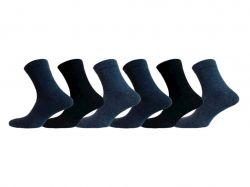 Шкарпетки чоловічі х/б мікс темні (12 пар) р.25 арт.MG 0005 ТМLOMANI - Картинка 1