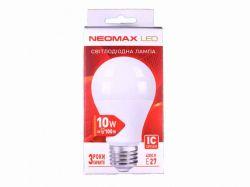 Лампа світлодіодна арт.NX10L Е27 10 Вт 3000К ТМNEOMAX