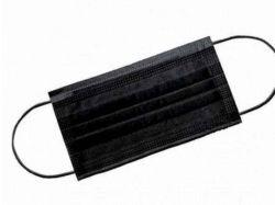 Маска медичнаДИТЯЧА з носовим фіксатором 10шт (чорна) ТМУКРАЇНА