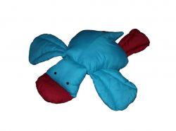 ПодушкаКонячкабавовна, гіпоалергенне волокно, синя ТМHomefort