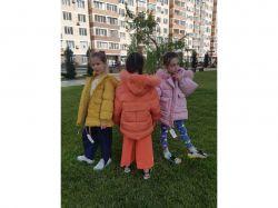 Куртка дитяча арт.81962-рожева р.130 ТМMaribel