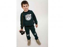 Комплект дитячий- 71530 (3-нитка, т.зелений, 92) ТМ Arjen