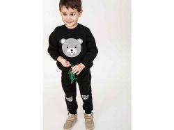 Комплект дитячий - 71530 (3-нитка, чорний, 92) ТМ Arjen