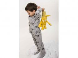 Піжама дитяча- 71130 (Вискоза, св.серий, 92) ТМ Arjen