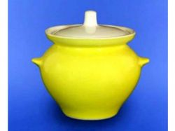 Горщик для жаркого 0,450л лимонний ТМАВАНГАРД