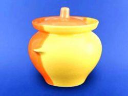 Горщик для жаркого 0,450л жовто-оранжевий ТМАВАНГАРД