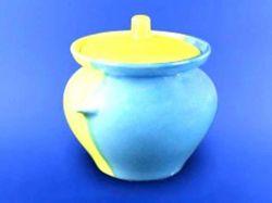 Горщик для жаркого 0,450л жовто-блакитний ТМАВАНГАРД