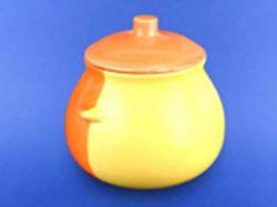 Горщик для жаркого 0,600л жовто-оранжевий ТМАВАНГАРД