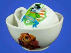 Набір дитячий з деколью Щенячий Патруль,2предм:чашка,салатник0,5л ТМАВАНГАРД