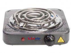 Електрична плита настільна спіральна 1,000 Ватт. LSU-1158 ТМLivstar
