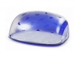 Хлібниця Беросс (синій напівпрозорий) ТМBEROSSI
