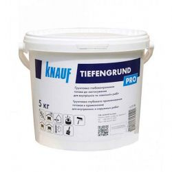 Грунтовка глибокопроникаюча Тіфенгрунд 5 кг ТМ KNAUF