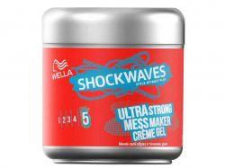 Крем-гель для волосся Wella суперсильної фіксації 150 мл ТМShockwaves