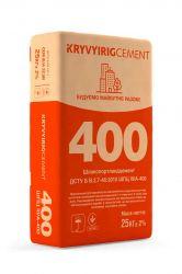 Цемент ШПЦ IІI/А-400 25кг (64шт. в пал.) ТМKRYVYIRIGCEMENT