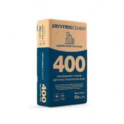 Цемент ПЦ IІ/А-Ш-400 25кг (64шт. в пал.) ТМKRYVYIRIGCEMENT