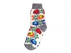 Шкарпетки жіночi вовна квiти мiкс (1 пара) р.36-40 ТМЗАПАДНАЯ