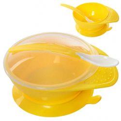 Посуд 3пр/наб(тарілка з кришкою,ложка) 15.5 *12* 8см R83770 ТМSTENSON