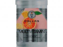 Маска д/волосся Keratin Professional Multivitamin 500 мл ТМDallas
