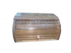 Хлібниця деревяна на рейках букова (темна) пропитана Горіх ТМЧЕРНІВЦІ