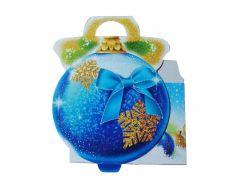 Коробка подарункова для солодощів №21-96 250гр. ТМУПАКОВКИН