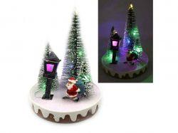 Новорічна LED декорація 3D фігурки Ялинка 14х10,5см. 0089L ТМКИТАЙ