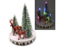 Новорічна LED декорація 3D фігурки Ліс 13х10,5см. 0091L ТМКИТАЙ