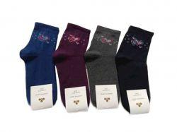 Шкарпетки жiночі демісезонi мiкс (10 пар/уп) р.23-25 арт.СKG 1 ТМЗолотой клевер