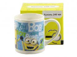 Чашка фарфорова 240мл Міньони MIN-M44 ТМINTEROS