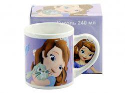 Чашка фарфорова 240мл Принцеса Софія PRS-M91 ТМINTEROS