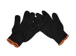 Перчатки робочі без ПВХ (2-ий сорт) чорні ТМVIVA TRADE
