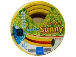 Шланг для поливу 1/2 (30м) Веселка жовта Sunny Gokkusag? Sari ЕСО ТМEVCI