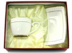 Набір 2-х предметний чайний (чашка квадр. 240 мл з блюдцем) S507009-AGIFT ТМKO