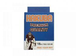 Камера для велосипеда d-18*1.75/2.125 AV Hakuba