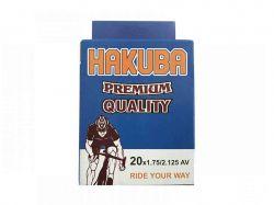 Камера для велосипеда d-20*1.75/2.125 AV Hakuba