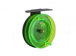 Катушка інерційна велика зелена 701 ТМFISHING ROI