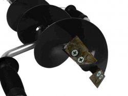 Ножі для льодобура стандарт ковані 130мм. (2шт/уп) арт. STK-130 ТМFISHING ROI