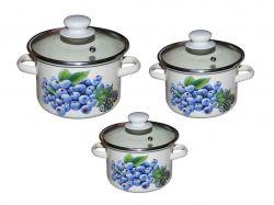 Набір ем. посуду 3-х предм. №752 Лохина (молочна) ТМIDILIA