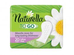 Щоденні прокладки Plus To Go в індивідуальній упаковці 20 шт ТМNaturella