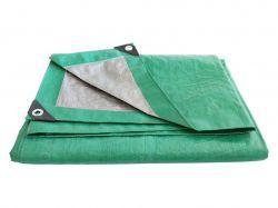 Тент будівельний 100гр/м2, 6х10м зелено-сірий ТМFORTUNE