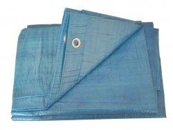 Тент будівельний 55гр/м2, 5 х 6м блакитний ТМFORTUNE